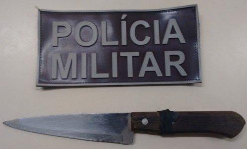 Jovem é preso após ameaçar foliões em festa na Zona Rural de Ribeira do Pombal