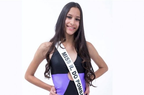 Ribeira do Pombal: Giovanna Matos vence concurso Miss Bahia Teen 2017