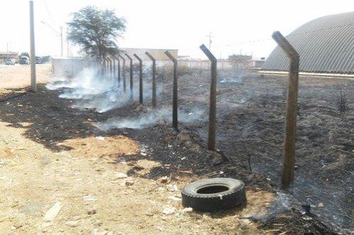 Temperatura alta pode ter sido causa do incêndio às margens da BR 410, em Ribeira do Pombal