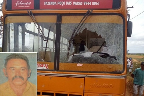 Motorista de Ônibus é vítima de latrocínio, na Zona Rural de Ribeira do Pombal