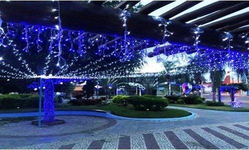 Nova Tecnologia ilumina Ribeira do Pombal para os festejos de Natal e Ano Novo