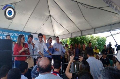 Governador Rui Costa, em Ribeira do Pombal