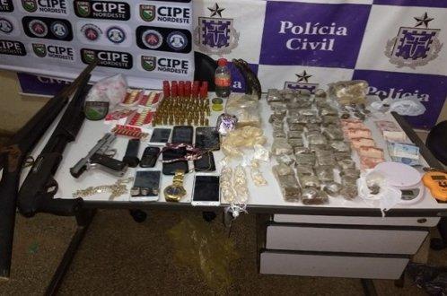Balanço Final da Operação Conjunta que terminou com um morto e seis conduzidos pela polícia, em Tucano-BA